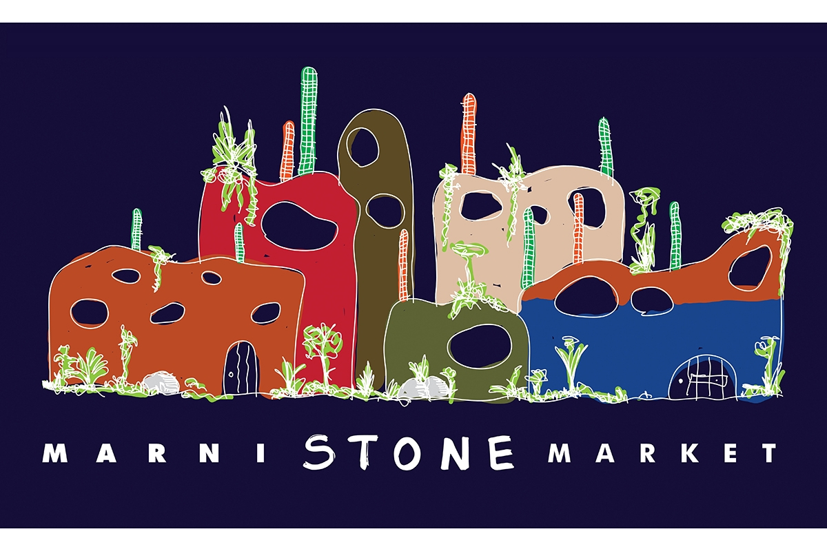 マルニストーンマーケットが表参道ヒルズで開催中 新作ストライプバッグも登場