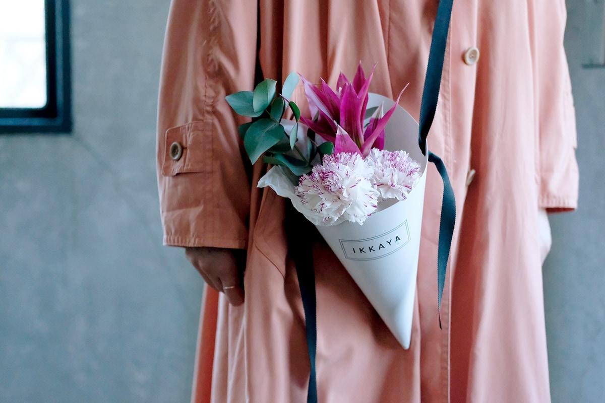 IKKAYA OMOTESANDOのコーンブーケとは? 三嶋善喬「一花屋」が表参道にオープンしたフラワーショップをレポート