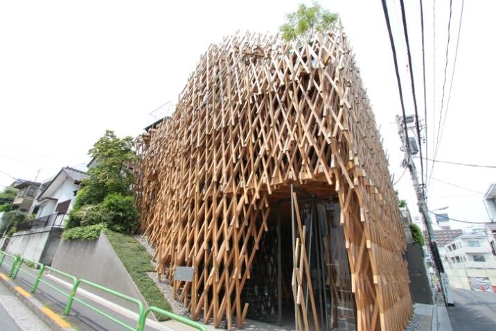 建築家・隈研吾氏作画の展示会「クマの場所」が、サニーヒルズ南青山で ...